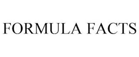 FORMULA FACTS