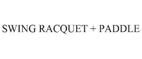 SWING RACQUET + PADDLE