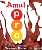 AMUL PRO WHEY PROTEIN MALT BEVERAGE CHOCOLATE FLAVOUR