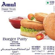 AMUL HAPPY TREATS READY TO COOK & SERVEBURGER PATTY