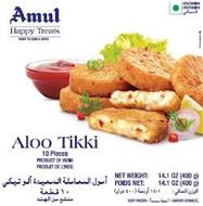 AMUL HAPPY TREATS READY TO COOK & SERVEALOO TIKKI
