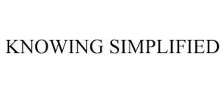 KNOWING SIMPLIFIED