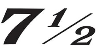 7 1/2