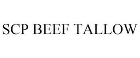 SCP BEEF TALLOW