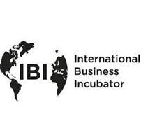 IBI INTERNATIONAL BUSINESS INCUBATOR