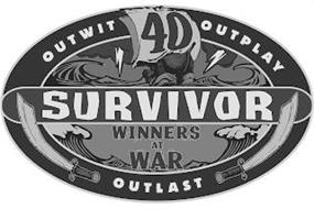 SURVIVOR OUTWIT OUTPLAY OUTLAST 40 WINNERS AT WAR