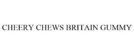 CHEERYCHEWS BRITAIN GUMMY