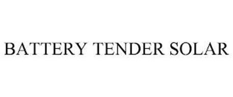 BATTERY TENDER SOLAR