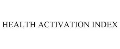 HEALTH ACTIVATION INDEX