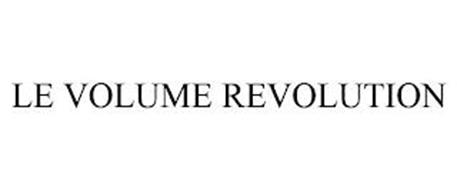 LE VOLUME REVOLUTION