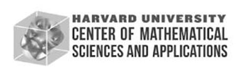 HARVARD UNIVERSITY CENTER OF MATHEMATICAL SCIENCES AND APPLICATIONS