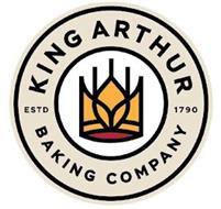 KING ARTHUR BAKING COMPANY ESTD 1790