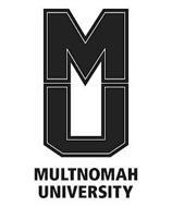 MU MULTNOMAH UNIVERSITY