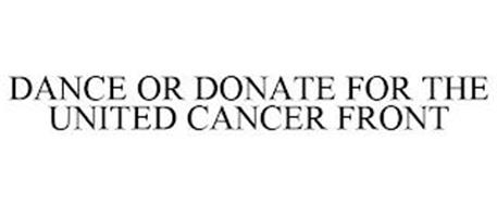 DANCEORDONATE FOR THE UNITED CANCER FRONT