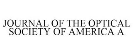 JOURNAL OF THE OPTICAL SOCIETY OF AMERICA A