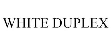 WHITE DUPLEX