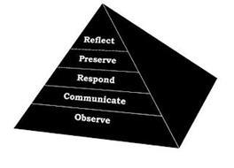 REFLECT PRESERVE RESPOND COMMUNICATE OBSERVE