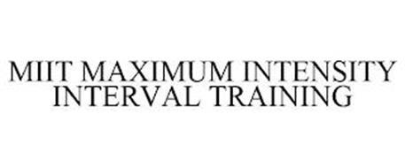 MIIT MAXIMUM INTENSITY INTERVAL TRAINING