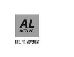 AL ACTIVE LIFE . FIT . MOVEMENT