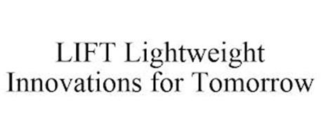 LIFT LIGHTWEIGHT INNOVATIONS FOR TOMORROW