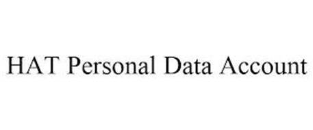 HAT PERSONAL DATA ACCOUNT