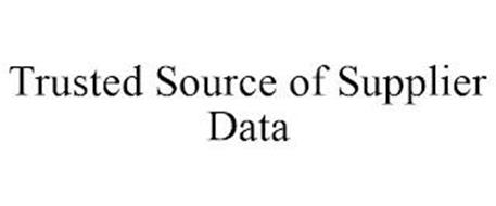 TRUSTED SOURCE OF SUPPLIER DATA