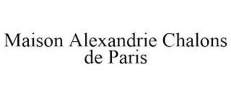 MAISON ALEXANDRIE CHALONS DE PARIS