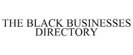THE BLACK BUSINESSES DIRECTORY