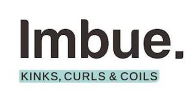 IMBUE. KINKS, CURLS & COILS