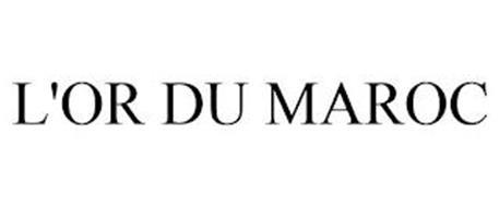 L'OR DU MAROC