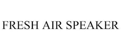 FRESH AIR SPEAKER