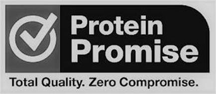 PROTEIN PROMISE TOTAL QUALITY. ZERO COMPROMISE.