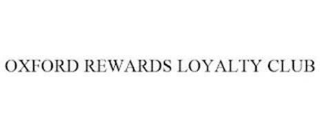 OXFORD REWARDS LOYALTY CLUB