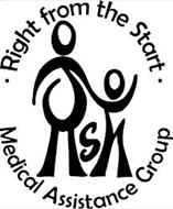 RIGHT FROM THE START MEDICAL ASSISTANCE GROUP RSM