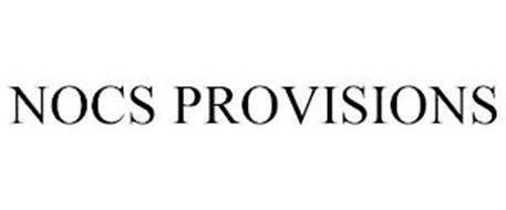 NOCS PROVISIONS