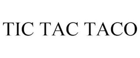 TIC TAC TACO