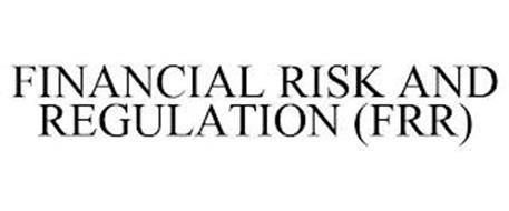 FINANCIAL RISK AND REGULATION (FRR)