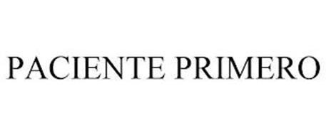 PACIENTE PRIMERO