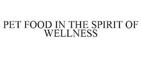 PET FOOD IN THE SPIRIT OF WELLNESS