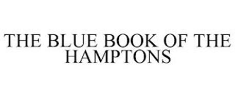 THE BLUE BOOK OF THE HAMPTONS