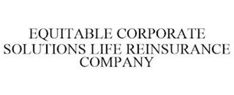 EQUITABLE CORPORATE SOLUTIONS LIFE REINSURANCE COMPANY