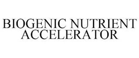 BIOGENIC NUTRIENT ACCELERATOR