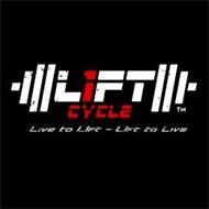 L1FT CYCLE LIVE TO L1FT L1FT TO LIVE