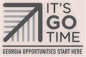 IT'S GO TIME GEORGIA OPPORTUNITIES START HERE