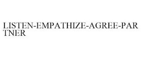 LISTEN-EMPATHIZE-AGREE-PARTNER