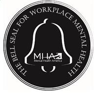 THE BELL SEAL FOR WORKPLACE MENTAL HEALTH MHA MENTAL HEALTH AMERICA