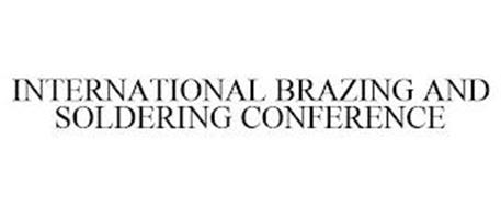 INTERNATIONAL BRAZING AND SOLDERING CONFERENCE