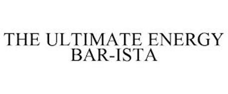 THE ULTIMATE ENERGY BAR-ISTA