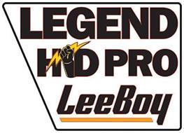 LEGEND HD PRO LEEBOY