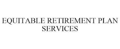 EQUITABLE RETIREMENT PLAN SERVICES